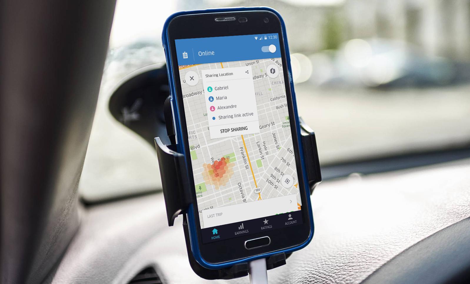 «Uber» вДнепре ужесточил правила транспортировки пассажиров