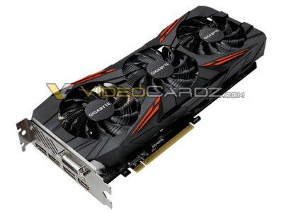 Появились изображения видеокарты Gigabyte GeForce GTX 1070 Ti Gaming