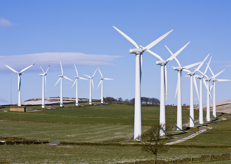 Microsoft закупила электричество ветряных станций на15 лет вперед