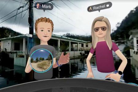 Марк Цукерберг посетил Пуэрто-Рико с виртуальным визитом, чтобы рассказать, как Facebook помогает бедствующим жителям острова
