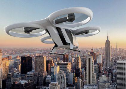Airbus планирует поднять в воздух концепт автономного электрического аэротакси до конца 2018 года