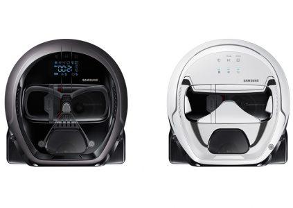Samsung создала робот-пылесос в стиле Star Wars со внешностью Дарта Вейдера и имперского штурмовика