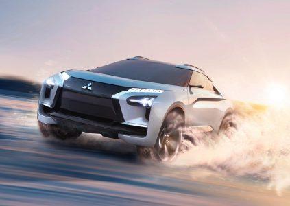 В Токио представили концепт электрического кроссовера Mitsubishi e-Evolution с футуристичным дизайном, тремя двигателями и ИИ в роли «инструктора по вождению»