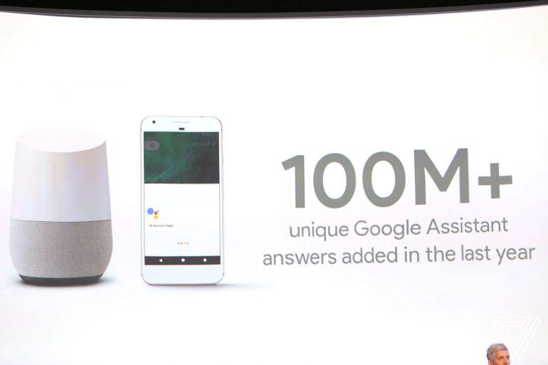 Google продал 55 млн медиаплееров Chromecast и ответил на 100 млн вопросов с помощью голосового помощника Google Assistant