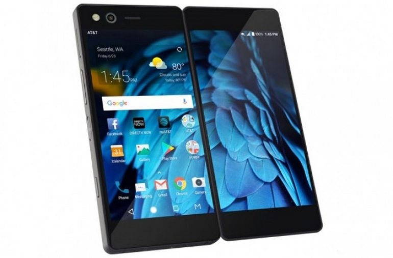 ZTE Axon M: представили смартфон, который раскладывается впланшет