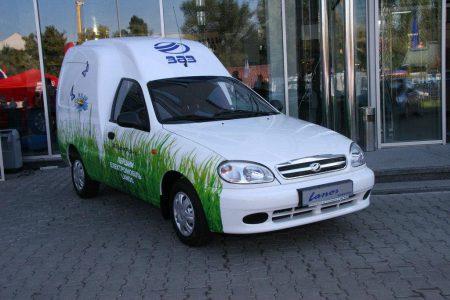 ЗАЗ разработал грузовой электрический фургон Lanos Cargo для «Новой Пошты», которая примет решение о покупке 100 экземпляров после тестирования (обновлено)