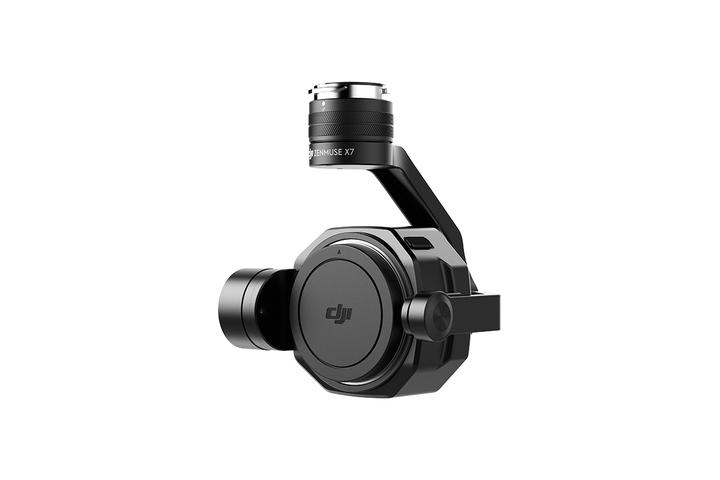 Камера для дронов DJI Zenmuse X7 позволяет снимать видео в разрешении 6K в формате CinemaDNG
