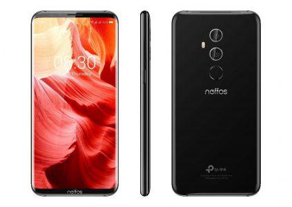 Утечка: TP-Link скоро представит «безрамочный» смартфон Neffos с 6-дюймовым экраном 18:9, чипом Snapdragon 835, памятью 6/256 ГБ и двойной камерой
