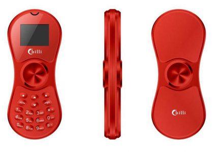 Chilli K118 – мобильный телефон в виде спиннера стоимостью $20