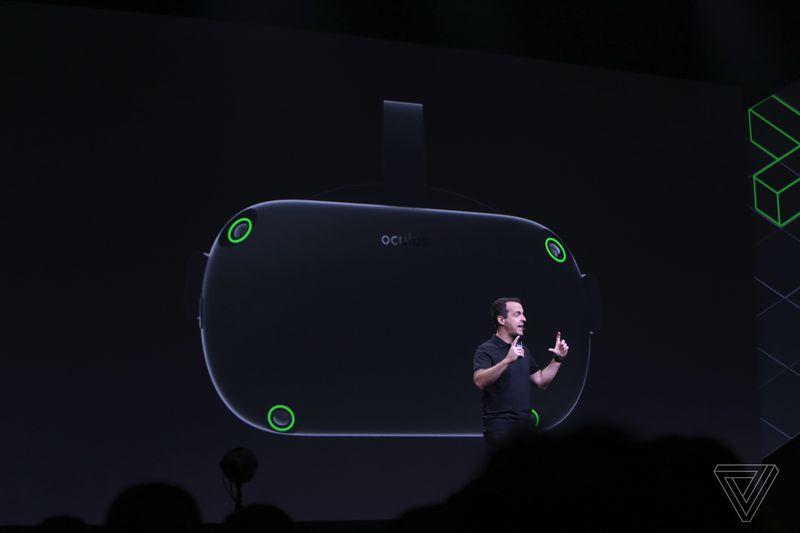 Oculus представила обновленную автономную VR-гарнитуру Santa Cruz с усовершенствованными контроллерами, но разработчики получат ее не раньше 2018 года