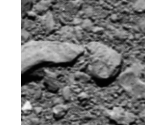 Сюрприз от «Розетты»: самая последняя фотография кометы Чурюмова-Герасименко с расстояния всего 18 м