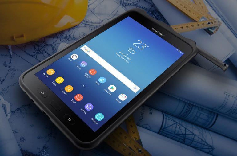 Восьмидюймовый планшет Samsung Galaxy Tab Active 2 защищен по стандартам MIL-STD-810G и IP68