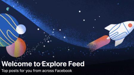 Facebook запускает дополнительную ленту новостей Explore с рекомендованными публикациями