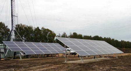 В Беларуси запустили базовую станцию мобильной связи на солнечных батареях