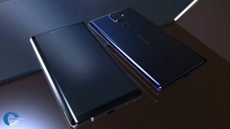 Компьютерная модель смартфона Nokia 9 запечатлена на видео