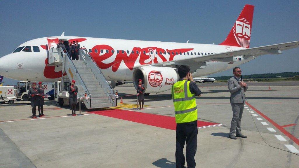 Итальянский лоукостер увеличит число рейсов из столицы Украины иЛьвова