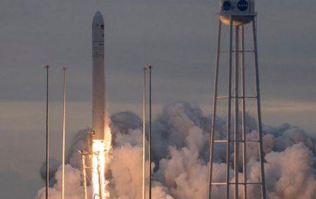Ракета Antares с украинской первой ступенью успешно вывела на орбиту грузовик Cygnus с восьмой миссией снабжения МКС