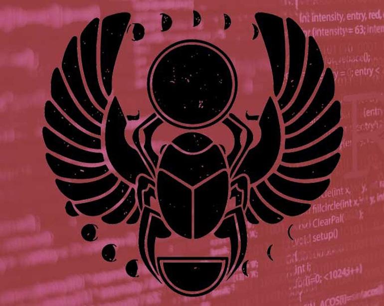 Киберполиция предупреждает о массовом распространении вируса-шифровальщика Scarab