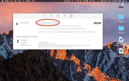 Менее чем за сутки Apple выпустила исправление уязвимости macOS High Sierra, позволяющей стать администратором без пароля