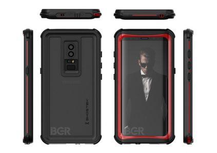 Изображения чехла для Samsung Galaxy S9 частично демонстрируют дизайн смартфона