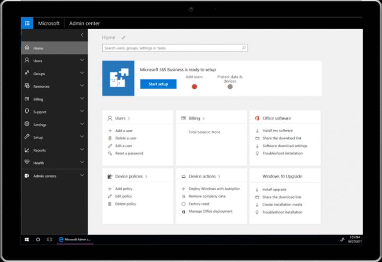 Microsoft 365 Business – новый тариф для малого и среднего бизнеса с доступом к Office 365, Windows 10 и ряду сервисов