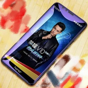 """В сеть попала первая фотография смартфона Huawei Honor V10, подтверждающая безрамочный дизайн и """"удлиненный"""" экран 18:9"""
