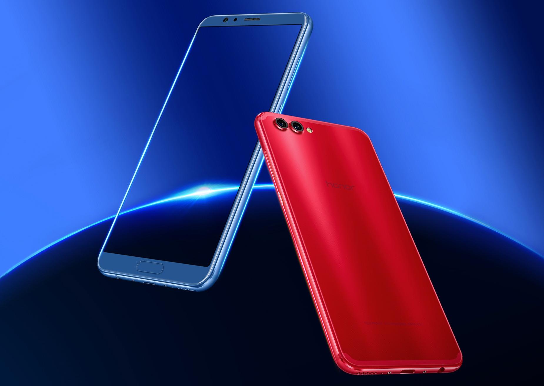 Huawei представила флагманский смартфон Honor V10