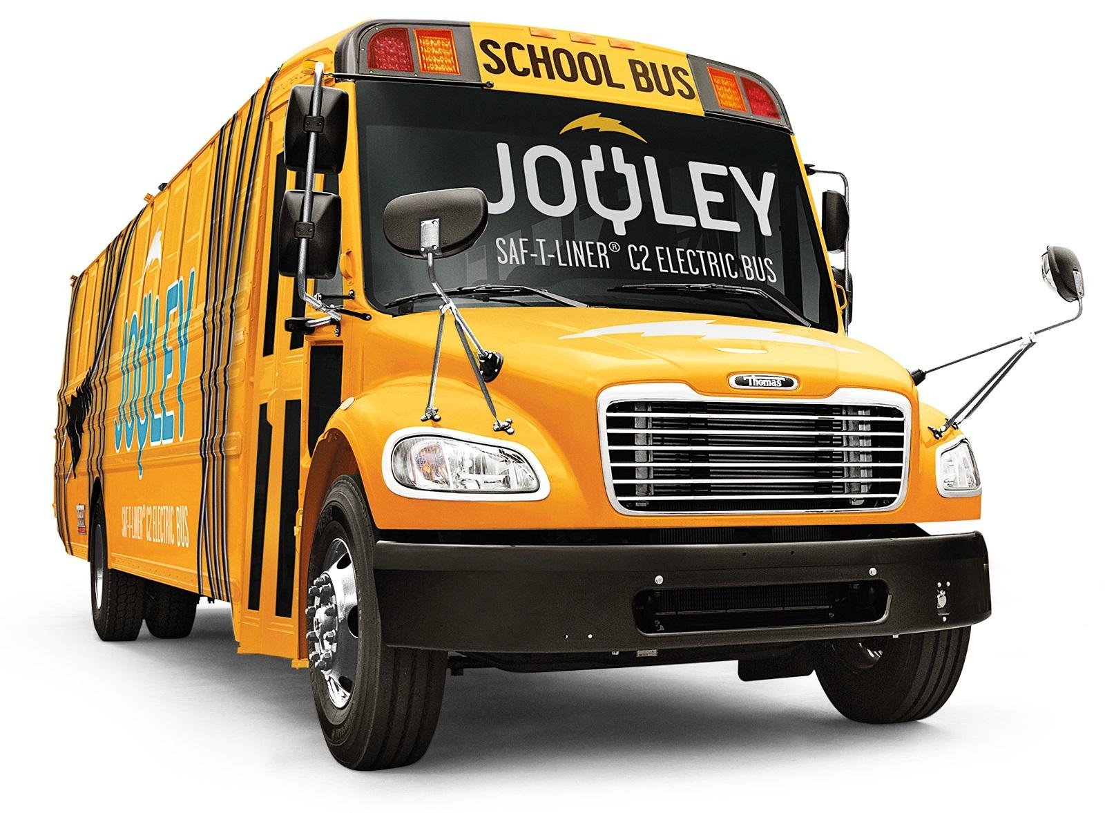 Daimler сделал 1-ый  ученический  электробус для США