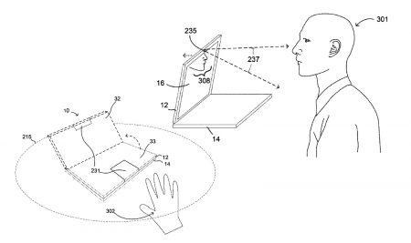 Google запатентовала ноутбук с «моторизованным» дисплеем, который умеет самостоятельно открываться, закрываться и подстраивать угол наклона под владельца