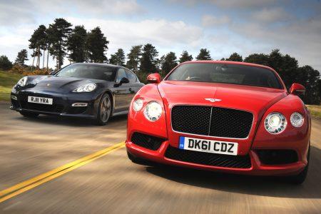 Bentley и Audi хотят позаимствовать платформу Porsche Mission E для создания своих собственных спортивных электромобилей
