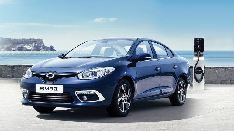 Электромобилю Renault Samsung SM3 ZE повысили емкость батареи с 22 до 36 кВтч без увеличения веса, запас хода вырос на 57% до 210 км