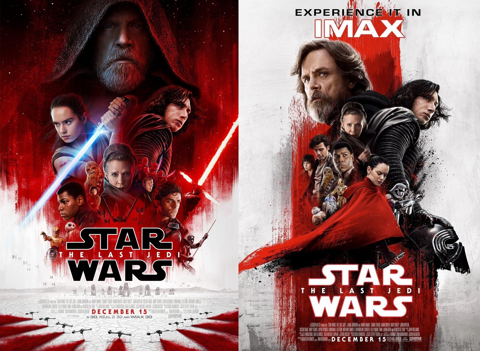 Звёздные войны. Эпизод 8: Последние джедаи / Star Wars VIII: The Last Jedi [2017]: Фильму «Звёздные Войны: Последние Джедаи» предрекают 0 млн сборов