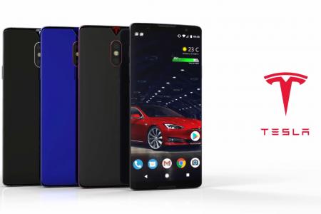 После выхода официального мобильного аккумулятора Tesla, дизайнер представил, как может выглядеть первый смартфон компании [видео]
