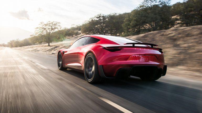 Tesla Roadster 2 - электрогиперкар со съемной крышей, временем разгона до сотни 1,9 сек, максималкой 400 км/ч, батареей на 200 кВтч, запасом хода 1000 км и ценником $200 тыс