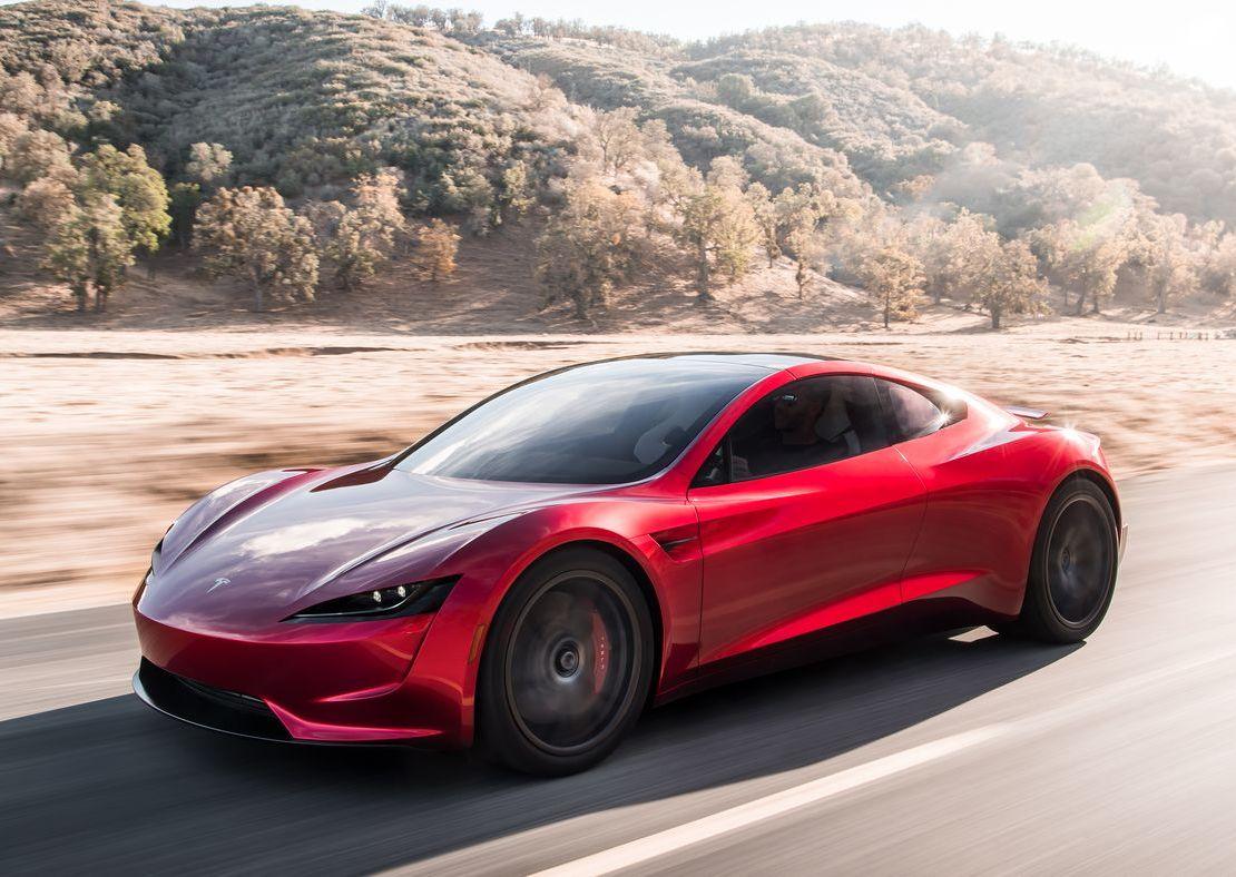 """Илон Маск: """"Разгон до сотни за 1,9 сек – это уровень базовой версии Tesla Roadster, любители скорости получат еще более быстрый пакет улучшений на основе ракетных технологий SpaceX"""""""