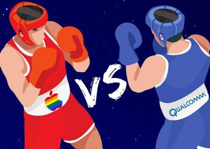 Qualcomm обвинила Apple в том, что она передала ее технологические секреты Intel