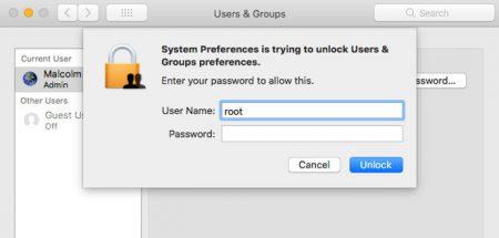Недавний экстренный апдейт ОС macOS High Sierra сломал функцию обмена файлами