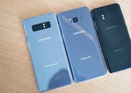 Микрофоны смартфонов Samsung Galaxy S8/S8+ и Note8 тоже чинятся продуванием