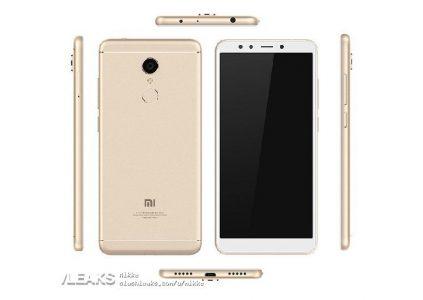 Опубликованы изображения и характеристики смартфонов Xiaomi Redmi 5, Redmi 5 Plus и Redmi Note 5