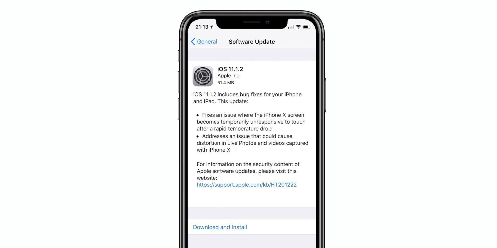 Apple исправила проблему с экраном iPhone X в новом обновлении iOS