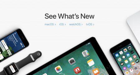 Apple выпустила обновления iOS 11.1, watchOS 4.1, macOS High Sierra 10.13.1 и tvOS 11.1