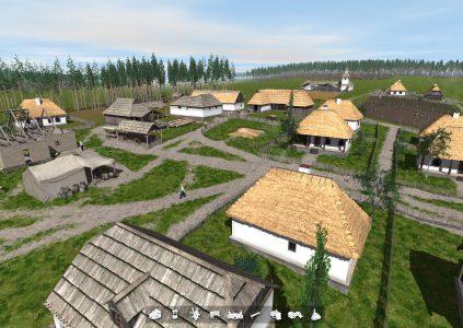 Харьковчанин в одиночку разрабатывает градостроительную стратегию об украинском селе 18 века, уже доступна альфа-версия