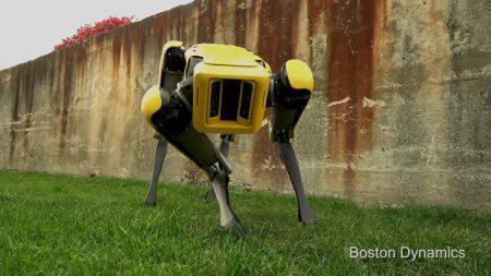 Видео: Boston Dynamics показала нового четвероногого робота SpotMini с милой внешностью