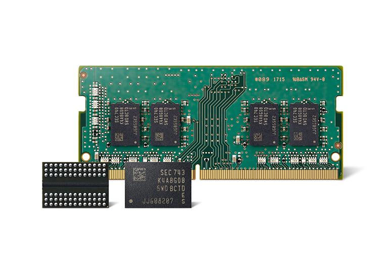 Самсунг начала производство неменее результативной памяти DDR4