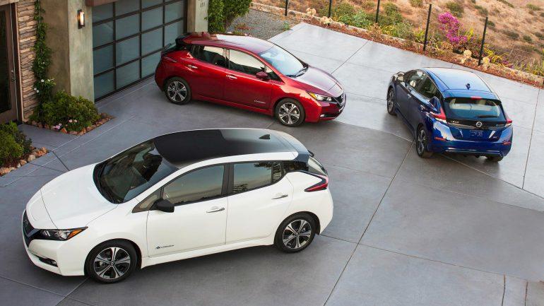 Новый электромобиль Nissan Leaf уже собрал 10 тысяч предзаказов в Европе, хотя первую версию заказывали сотнями экземпляров