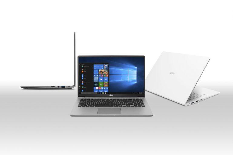 Масса новых моделей ноутбуковLG Gram составляет всего около килограмма