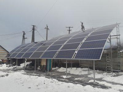 В Киевской области запустили первую «сферическую» солнечную станцию для дома