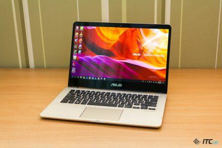Обзор ноутбука ASUS Zenbook Flip 14 (UX461UA)