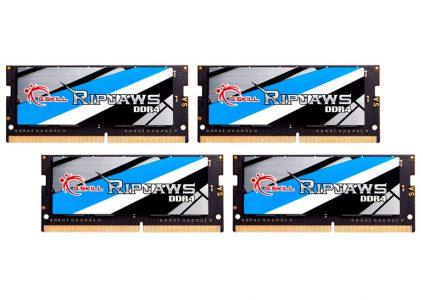G.Skill анонсировала «самый быстрый» комплект ОЗУ DDR4 SO-DIMM объёмом 64 ГБ