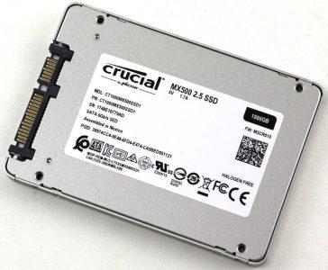 Crucial анонсировала SSD MX500 ёмкостью 1 ТБ по цене $260